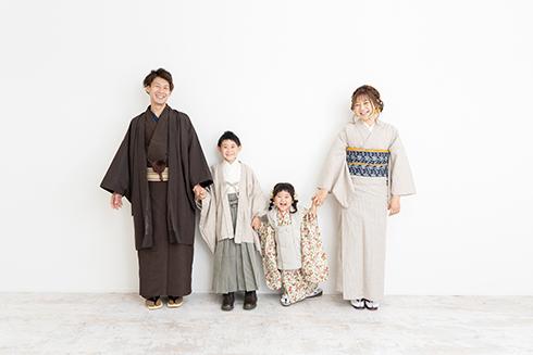 家族で着物!大人の着物レンタルも♪
