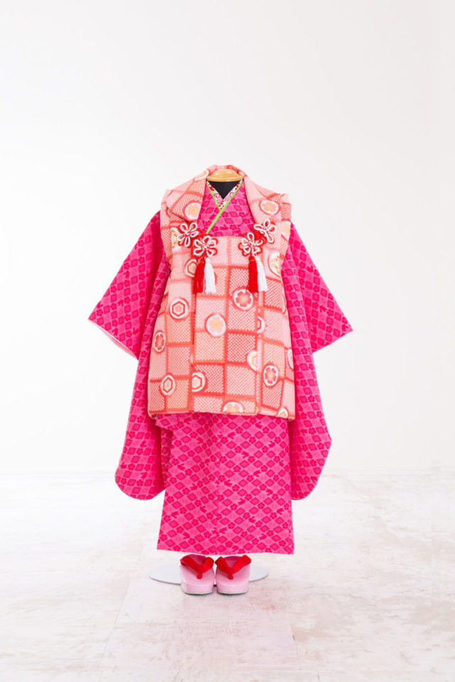 3歳七五三レンタル衣装