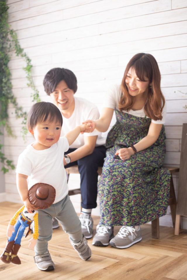 家族写真-千葉のスタジオことり